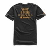 T-SHIRT ALPINESTARS ROTOR NOIR tee shirt