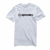 T-SHIRT ALPINESTARS VALIANT ROUGE tee shirt