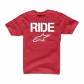 T-SHIRT ALPINESTARS RIDE SOLIDE NOIR tee shirt