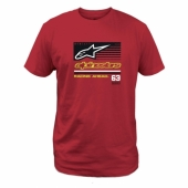 T-SHIRT ALPINESTARS  AILÉ ARGENT  tee shirt