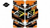 kit deco grille de  radiateur  KTM  EXC kit deco radiateur