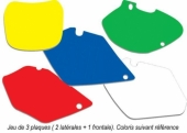 jeu fond de plaque 450 WR-F 2003-2015 fond de plaque